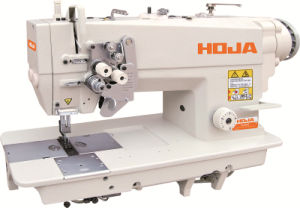 High Speed Double Needle Lockstitch Sewing Machine Hj845D