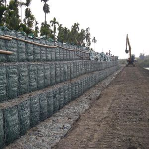 Gabion Box Prices/Gabion Box Stone Cage/PVC Coated Gabion Box pictures & photos