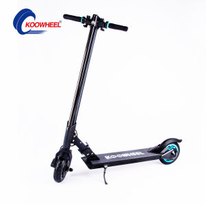 "Jomo Wholesale 8"" Solid Tyre Alluninium Alloy Structure Samsung Battery Foldable Riding Scooter pictures & photos"