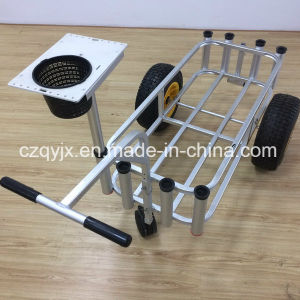 Fishing Product Aluminum Fishing Cart with Cutting Board pictures & photos