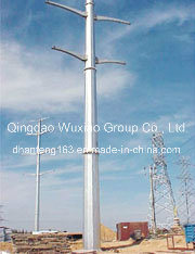 Power Transmission Steel Monopole Tower pictures & photos