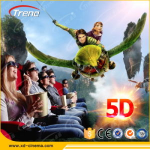 Thrilling Action Ride 12 Seats Simulator 7D Cinema for Sale pictures & photos