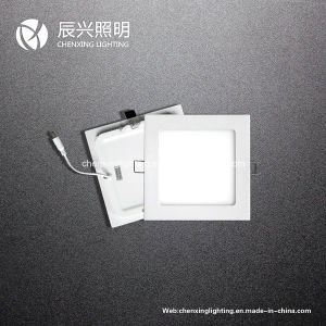3W 6W 9W 12W 15W 18W 24W Round Square LED Panel Light