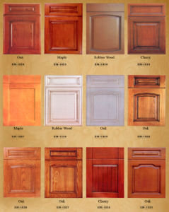 Hot Selling Solid Wood Kitchen Cabinet Yb-16006 pictures & photos