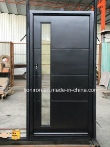 Interior Square Top Custom Iron Front Doors modern Style pictures & photos