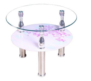 Cheap Glass Side Table/Coffee Table/Home Furniture pictures & photos