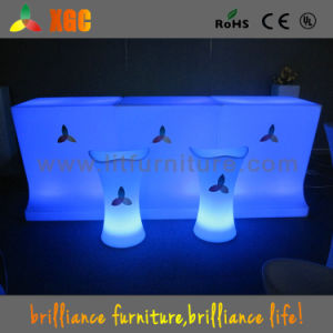 Glow Bar Chair & Bone-Shape Bar Stool