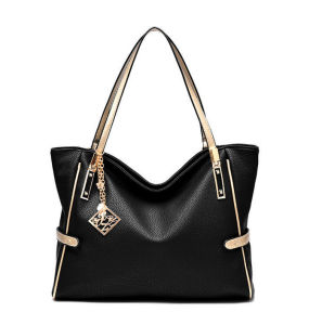 2016 Fashion Classical Style PU Leather Lady Handbag