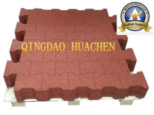 Comfortable Horse Home Recycled Rubber Tile/Paver pictures & photos