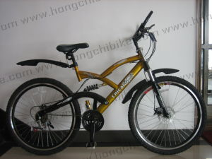 """26""""Alloy Frame MTB Bike High Bumper Suspension Bicycle for Dirt Road City Bike (HC-MTB-71905) pictures & photos"""