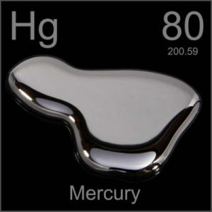 Mercury (Hg) for Minning, Electronics, and Chemical Synthesis.