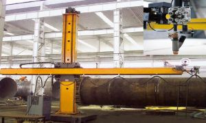 Column and Boom Welding Machine with High Efficiency pictures & photos