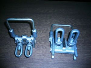 Aluminum Alloy with Tin Coated Copper Bail Clamp pictures & photos