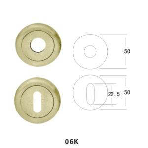Zinc Alloy Escutcheon (06K) pictures & photos