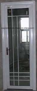 Real Photo White Aluminum Bathroom Door (EA-1005) pictures & photos