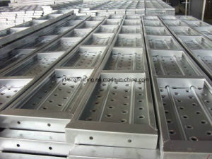 Ringlock Scaffold Steel Board Plank pictures & photos