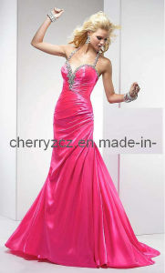 Halter Fashion Party Prom Evening Dress