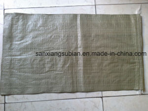 Grey Green PP Woven Bag Sacks for Packing Garbage pictures & photos