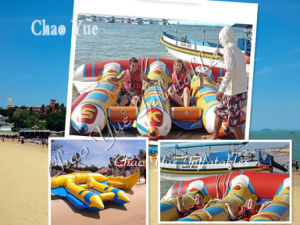 Popular Inflatable Floating Water Flyfish Boat for Water Game (CYWG-S1574) pictures & photos