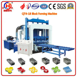 Qt4-18 Hydraulic Compressed Brick Machine