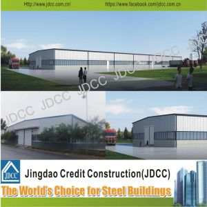Light Steel Structure Warehouse Steel Frame pictures & photos