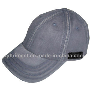 Faded Washed Cotton Twill Thick Stitching Baseball Cap (B-Fade wash) pictures & photos