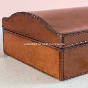 Mens Vintage Leather Jewellery Box pictures & photos