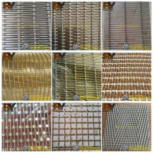 Stainless Steel Decorative Metal Wire Mesh pictures & photos