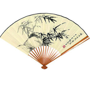 High Quality Paper Promotional Hand Fan pictures & photos