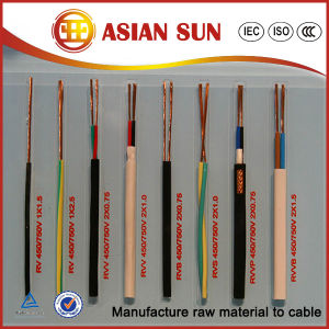 Manufacturer 450/750V PVC Insulation Electrical Cable pictures & photos