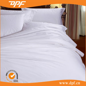 Egyptian Cotton Bedding Sets White for Hotel (DPF10725) pictures & photos