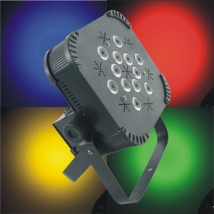 12PCS 10W Quad LED PAR 64 DJ Spot Lighting