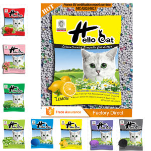 2016 Hot Sales Chinese Hello Cat Bentonite Cat Litter pictures & photos