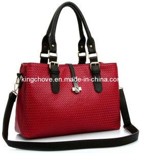 Latest Fashion Ladies Knitting PU Handbag (KCH89-02) pictures & photos