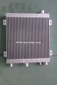 Aluminum Combined Heat Exchanger (AOC12) for Screw Compressure pictures & photos