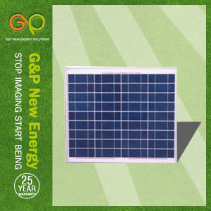20wp Polycrystalline Solar Panel with Best Quality pictures & photos