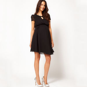 New Fashionable Organic Cotton Pregnant/Maternity Dress pictures & photos