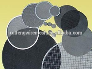 Stainless Steel Extruder Circular Screen Polymer Melt Filter pictures & photos