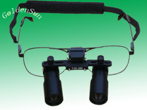 Eye Glasses Magnifier Magnifing Glass Frontal Loupe Surgical Loupe pictures & photos