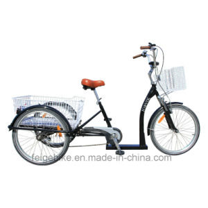 """24"""" High Grade Elder People Cargo Trike Low Cross Tricycle (FP-TRB-J011) pictures & photos"""