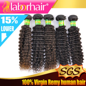 7A Grade Kinky Curl 100% Brazilian Virgin Remy Human Hair Extension Lbh 169 pictures & photos