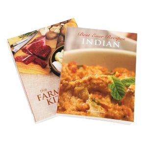 Softcover Recipe Book Printing for Indian Food pictures & photos