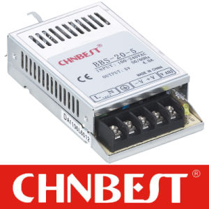 20W 24V Switching Power Supply with CE and RoHS (BBS-20-24) pictures & photos