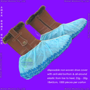 Disposable Non-Slip Shoe Cover pictures & photos
