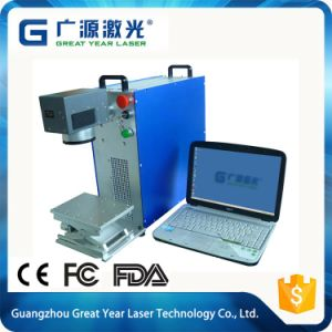 Factory Top Sell Portable Fiber Laser Marking Machine on Keys pictures & photos