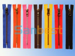 Colorful High Quality Resin Zippers with Silver Teeth pictures & photos