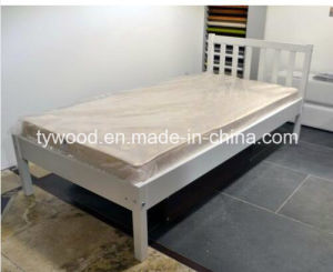Single Wooden Bed with High Quality pictures & photos