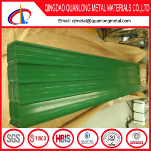 Corrugated Color Coated Steel Roof Sheet pictures & photos