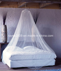 Long Lasting Insecticide Treated Polyester Mosquito Net in Round Shape pictures & photos