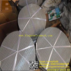 Stainless Steel Filter Wire Mesh Disc pictures & photos